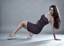 Sexy latin model Stock Image