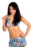 Sexy Latina Bikini Stock Photo