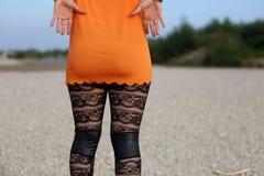Sexy leggings Stock Photos