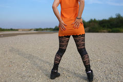 Sexy leggings Stock Images