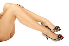 Sexy legs Stock Images
