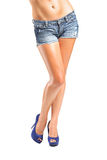 Sexy legs of beautiful woman Royalty Free Stock Photography