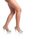 Sexy legs of the girl Royalty Free Stock Photos