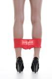 Legs in high heels Stock Photo