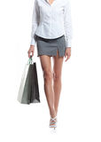 Sexy legs of a woman Stock Photography