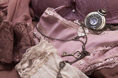 Sexy lingerie details in close Royalty Free Stock Images