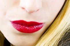 Sexy lippen Royalty-vrije Stock Afbeeldingen