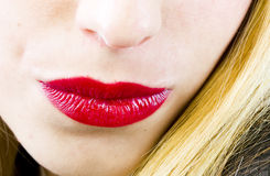 Sexy lips Royalty Free Stock Images