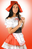 Sexy Little Red Riding Hood Royalty Free Stock Photography