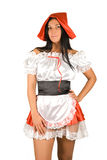 Sexy Little Red Riding Hood Stock Images