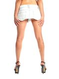 long female legs  white background Stock Photo