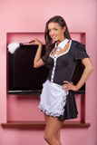 Sexy maid. Stock Images