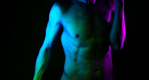 Sexy male nude man Royalty Free Stock Photos