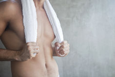 Sexy man body Royalty Free Stock Images