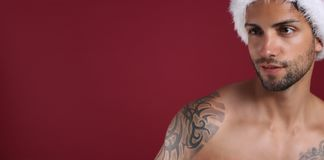 eac13d3c05304 Tattoo Santa Hat Stock Images - Download 196 Royalty Free Photos