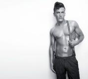 Sexy Man Shirtless Royalty Free Stock Images
