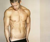 Sexy man shirtless Royalty Free Stock Photos