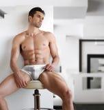 Sexy man in underwear Stock Photography