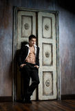 Sexy man Stock Photography