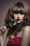 Sexy masquerade girl Royalty Free Stock Photography