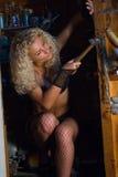 Sexy Mechanic Stock Photography