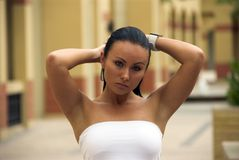 Sexy meisje! Stock Afbeelding