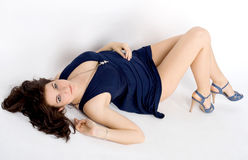 Sexy meisje royalty-vrije stock foto
