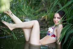 Sexy meisje stock afbeeldingen