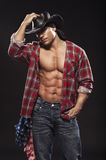 Sexy men like cowboy Stock Photography