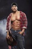 Sexy men like cowboy Royalty Free Stock Photo