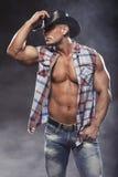 Sexy men like cowboy Stock Photos