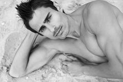 Sexy mens Royalty-vrije Stock Afbeeldingen