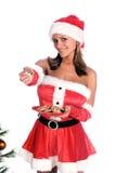 Mevr. Santa Royalty-vrije Stock Afbeelding