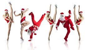 Sexy Mevr. Santa royalty-vrije stock fotografie