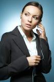 Sexy Mg Bedrijfs van de Vrouw. Royalty-vrije Stock Fotografie