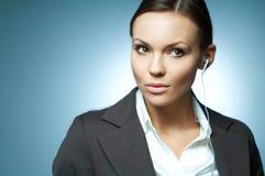 Sexy Mg Bedrijfs van de Vrouw. Stock Afbeeldingen