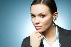 Sexy Mg Bedrijfs van de Vrouw. Stock Afbeelding