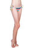 Sexy model wearing bikini Royalty Free Stock Photography