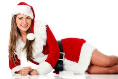 Sexy Mrs Claus Stock Photography