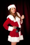 Sexy Mrs Claus Stock Images