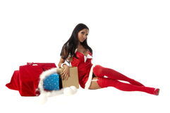 Sexy Mrs Santa Royalty Free Stock Image