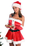 Sexy Mrs. Santa Stock Image