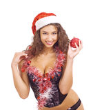 Sexy Mrs Santa Claus Stock Image