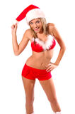 Sexy Mrs Santa Claus Royalty Free Stock Images