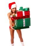 Sexy Mrs Santa Claus Stock Image
