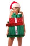 Sexy Mrs Santa Claus Stock Photography