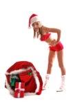 Sexy Mrs Santa Claus Stock Photos
