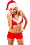 Sexy Mrs Santa Clause Royalty Free Stock Image