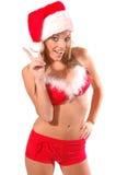 Sexy Mrs Santa Clause Royalty Free Stock Photos