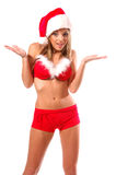 Sexy Mrs Santa Clause Royalty Free Stock Images